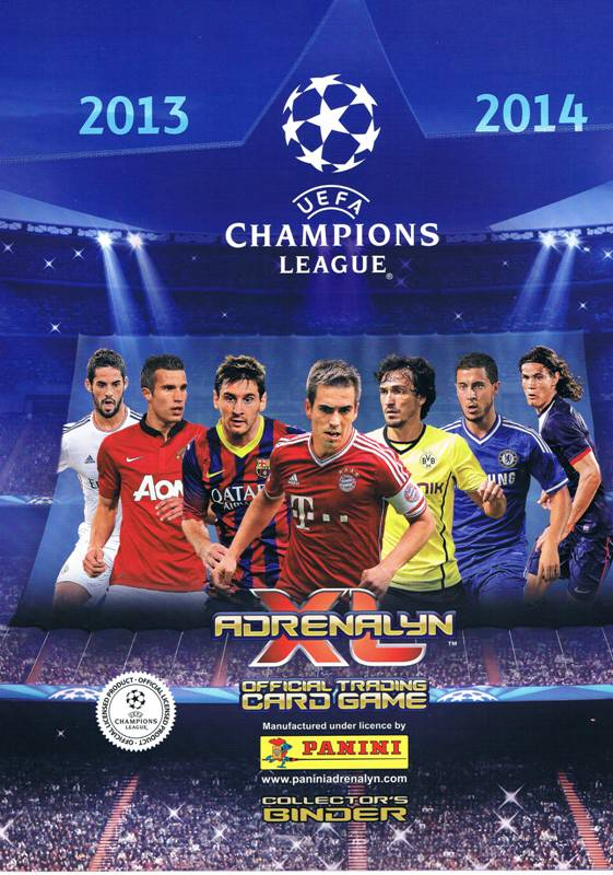 KLASER ALBUM NA KARTY UEFA CHAMPIONS LEAGUE UPDATE Edition